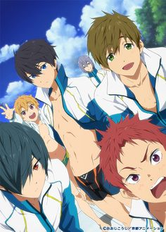 Free! High-Speed - Cover 1