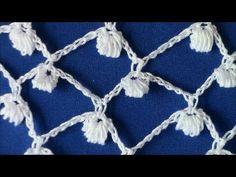 ▶ Irish Crochet Basics, The Clones Knot ground - YouTube