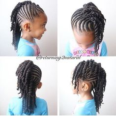 STYLIST FEATURE| How cute is this #braid and #flattwist style done by #CharlotteStylist @Returning2Natural so pretty #VoiceOfHair ========================= Go to VoiceOfHair.com ========================= Find hairstyles and hair tips! =========================