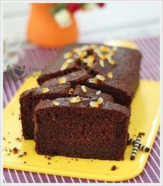 Chocolate Orange Loaf Cake (Nigella Lawson) | Anncoo Journal - Come for Quick and Easy Recipes