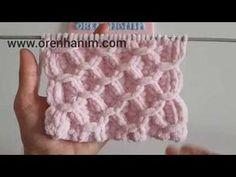 Making a Baby Blanket with Velvet Rope - Hakeln Crochet Bebe, Crochet Hats, Big Knit Blanket, Jumbo Yarn, Free Baby Blanket Patterns, Big Knits, Knit Pillow, String Bag, Knitted Bags