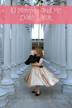 I love this mommy and me gold sequin skirt pairing! The sparkle is perfect for a christmas outfit or new year's eve wear! Mommy Daughter Dates, Valentines For Daughter, To My Daughter, Daughters, Casual Outfits For Moms, Mommy And Me Outfits, Mother Daughter Activities, Gold Sequin Skirt, Winter Family Photos