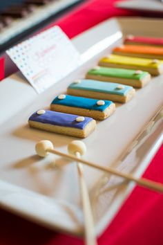Music Inspired DIY Birthday Party Cookies