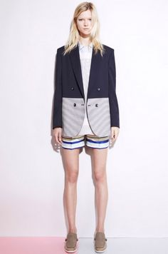 stella. ZOMG This blazer is to die for! And the shorts!!!
