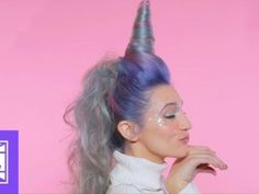 There's now a unicorn hair tutorial — and yes, it includes a horn