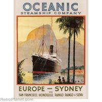 Oceanic Steamship Co Sign