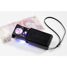 Great Lupas especiales Lupa Triplet Plegable x LED Lux Ultravioleta