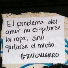 el problema del amor...