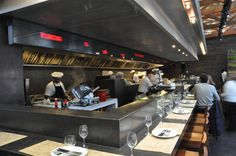 Implement An Open Kitchen Concept To Better Facilitate The Unique Chinese Restaurant Kitchen Design Review