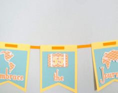 Custom Birthday Banners, Event Banner, Party Stores, Whimsical, Art Pieces, Handmade Gifts, Crafts, Design, Decor