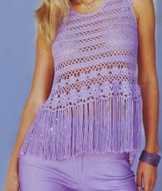 Crochet top PATTERN, sexy beach crochet tunic pattern, beach crochet top. - favoritepatterns.com