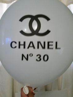 Chanel No 30 Inspiration Balloons white  12 by MaFersCreations, $2.50