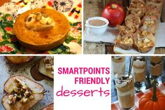 Friday Five:  Low Sugar (and SmartPoints) Dessert Ideas