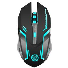 6038cbae4 Rechargeable Wireless 7 colour Gaming Mouse Price: 19.00 & FREE  Shipping #office #