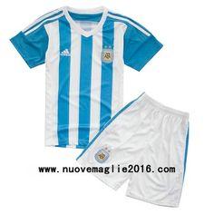 Maglia Argentina Bambino Home 2015-2016 All Star, Polo Shirt, Mens Tops, Shirts, Fashion, Shopping, Football Shirts, Argentina, Moda