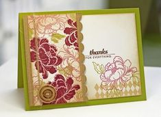 Anniversary set card by Lisa Johnson for Papertrey Ink (February 2012).