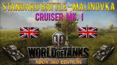 This is a Standard Battle taking place at Malinovka  map with Cruiser MK. I tank in World of Tanks: Xbox 360 Edition, won with 829 experience.
