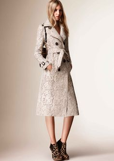 Burberry's Resort 2016 Collection Is All About Texture - Fashionista