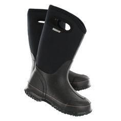 Bogs Classic All Season Waterproof Boot - Black High Handles
