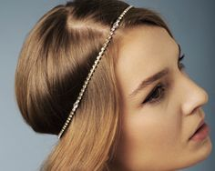 Single Strand Crystal Headwrap
