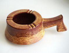 Posacenere Bertoncello screziato vaso ceramica artistica
