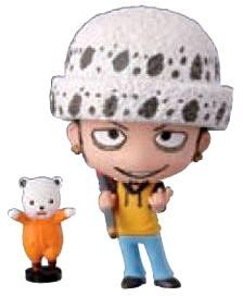"One Piece: Deformaster Series 2 Petit Trading Figures With Base ~2.5"" - Trafalgar Law by Bandai. $11.88. Approx. 2.5"" Tall. Imported from Japan. Brand New in Box. Official Licensed Product. Comes with Base!. The One Piece manga and anime series features an extensive cast of characters created by Eiichiro Oda. The series takes place in a fictional universe where vast numbers of pirates, soldiers, revolutionaries, and other adventurers fight each other, using variou..."