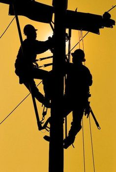 I'm truly thankful for all the hard work our Linemen do regardless of the situation. I have been married to a lineman for forty-one years and truly understand the dangers. Thank You!!