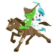 Horses in Minecraft Update!