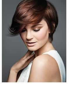 hair idea from ulta's web page #pixie cut #shorthair #red