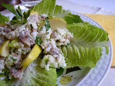 Las maría cocinillas: Ensalada de arroz con pollo
