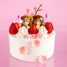 美味しいひな祭りケーキ
