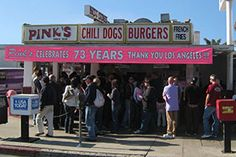 Foodies I met at the Blue Moon Cafe said on one of their trips they went Pink's Hot Dogs in Hollywood California and it was one of the best hot dogs ever!