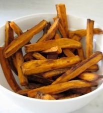 """Sweet Potato """"Fries"""" (for babies one year and older) #recipe www.thebump.com"""