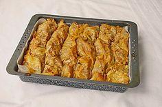 Mit Gemüse gefüllte Yufka-Blätter (Rezept mit Bild)   Chefkoch.de