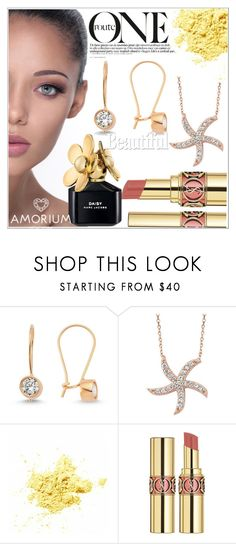 """""""AMORIUM 10."""" by selmir ❤ liked on Polyvore featuring Amorium, Yves Saint Laurent, Marc Jacobs, women's clothing, women, female, woman, misses and juniors"""