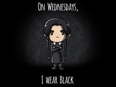 On Wednesdays, I ...