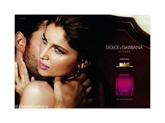 Laetitia Casta for Intense fragrance by Dolce