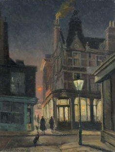 Camden Head, Camden Walk - Geoffrey Scowcroft Fletcher 1961British 1923-2004