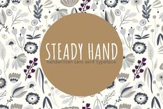Steady Hand font @creativework247