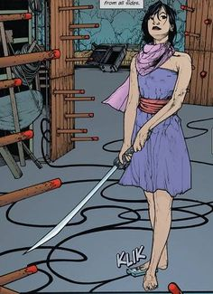 Katana screenshots, images and pictures - Comic Vine