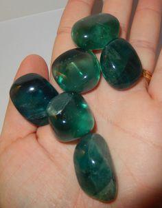 Blue/Green  Fluorite by earthlightgems on Etsy