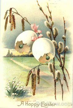 Ретро открытки с праздником Пасхи. Комментарии : LiveInternet - Российский Сервис Онлайн-Дневников