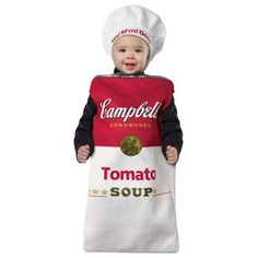 Campbell's® Tomato Soup Can Infant Costume - CampbellShop.com