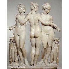 Ancient Greek & Roman Sculpture: Charites the Three Graces