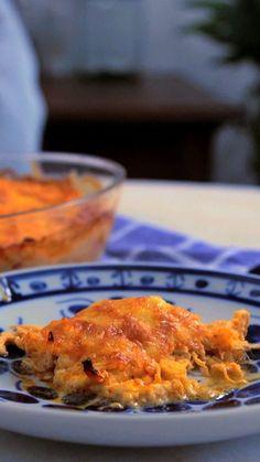 Não tem massa  em casa? Aprenda a fazer uma diferente e maravilhosa lasanha com batata!