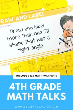 These math talk routines will get your students talking and writing about math. There are 125 math warmup questions included so you won't have to do any of the work. The routines included in this bundle are fun for students and promote critical thinking and problem solving. Math Activities, Math Games, Math Notebooks, Interactive Notebooks, Daily 5 Math, Math Blocks, Math Talk, Framed Words, Math Graphic Organizers