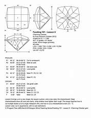 Gem Faceting Diagrams - Bing images Jewelry Art, Gemstone Jewelry, Jewelry Design, Rock Collection, Mirror Image, Loose Gemstones, Jewelry Making, Pattern, Bing Images