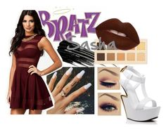 """BRATZ:Sasha"" by ssuperwoman ❤ liked on Polyvore featuring Urban Decay, LORAC, Lime Crime, Giuseppe Zanotti, women's clothing, women's fashion, women, female, woman and misses"