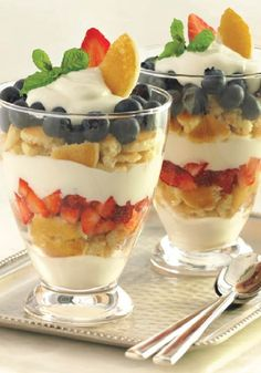 You can't go wrong with Pancake Parfaits, ready in just 15 minutes using Eggo Minis!