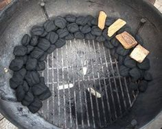 Here's how to properly set up a charcoal grill like the Weber Kettle for 2 zones cooking.